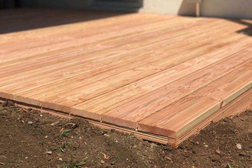 Holzterrasse bauen lassen